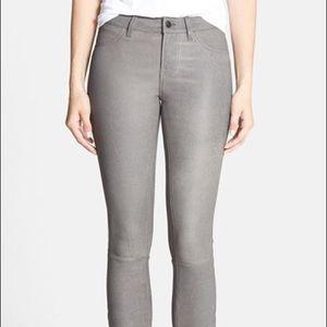 J Brand Pebbled Leather Pants