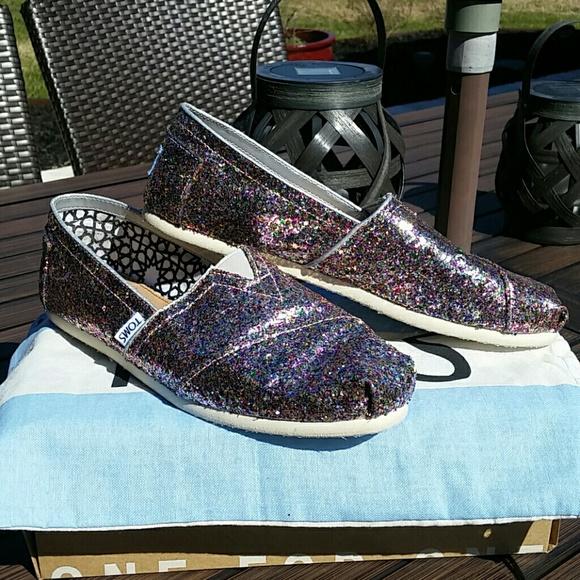 Toms Shoes   Toms Multi Glitter Shoes