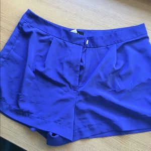 Royal Blue Dress shorts
