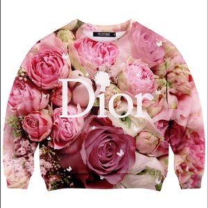 Dior Floral Sweatshirt