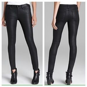 Joie Denim - MOVING SALE❗️Faux Black Leather Skinny Jeans