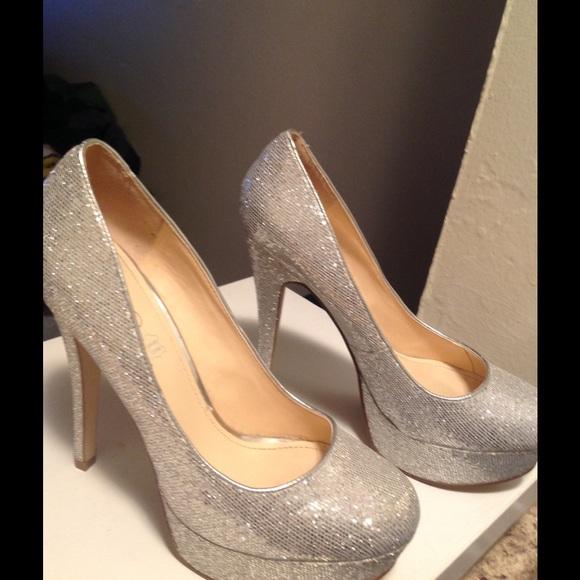 7fcaa5721d60 ALDO Shoes | Glitter Heels | Poshmark