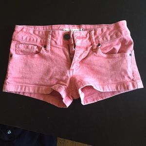 Pants - Colored Jean shorts