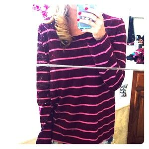 Liz Claiborne Striped Top