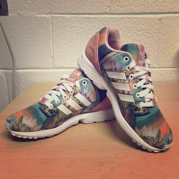 a5a137b3988bc Adidas Shoes - adidas Originals ZX Flux Lotus Flower
