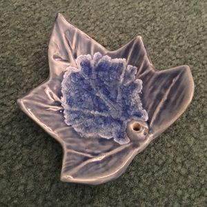 Other - Ceramic Leaf Incense Burner
