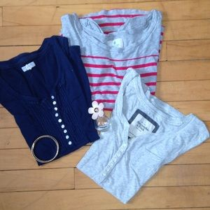 Abercrombie & Fitch Tops - Small T-Shirt Bundle