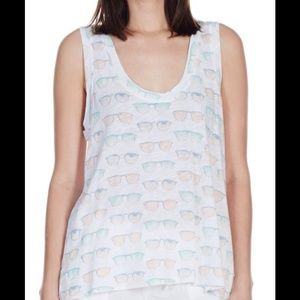 Soft Joie Tops - SOLD Soft Joie Porclein Sunglasses Tank