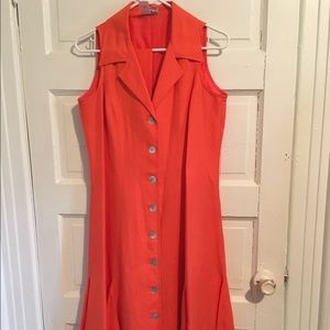 Coldwater Creek collared dress