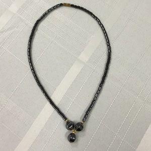 """Jewelry - 16"""" hematite choker"""
