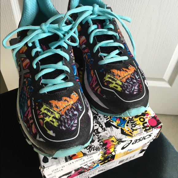 asics Shoes - ASICS limited NYC Marathon graffiti. Gel-kayano 22 81ebf38db668