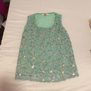 Tops - Cute light blue summer shirt