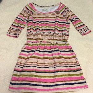 Anthropologie Dresses & Skirts - Anthropologie rainbow striped dress