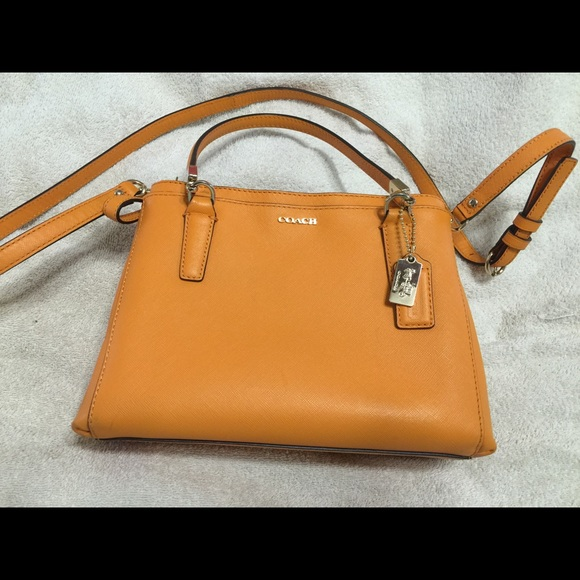 inexpensive coach mini christie bag in mandarin w price tag 7b831 7320c 09a0badf4d4d7