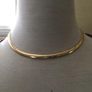 Jewelry - 14K Gold VintageOmega Necklace