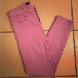 Joe's Jeans Lavender Skinny Crop Pants