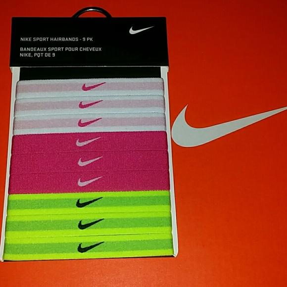Nike Sports Hairbands 9pk 73ca353df246