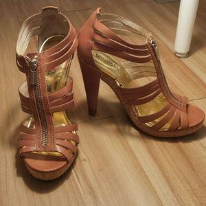 MICHAEL Michael Kors Shoes - Michael Kors Robertson T Strap Sandals