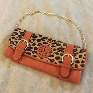 ANTONIO MELANI Handbags - Antonio Melani -  calf hair & leather clutch bag