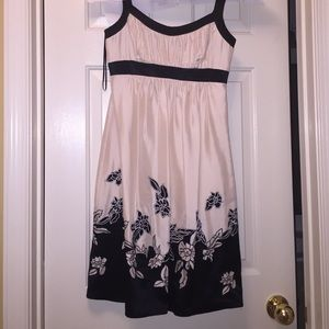 BCBG silk formal dress