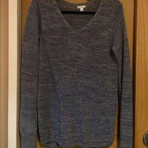 Blue Sweater side medium