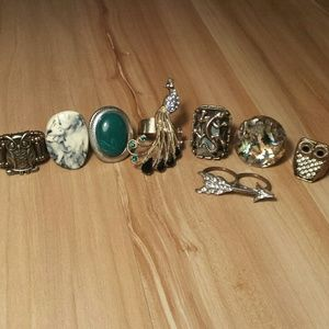 Jewelry - Collection of fun and unique rings!