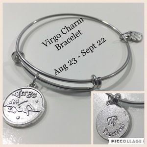 Jewelry - Virgo Horoscope Charm Bracelet