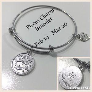 Jewelry - Pisces Horoscope Charm Bracelet