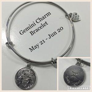 Jewelry - Gemini Horoscope Charm Bracelet