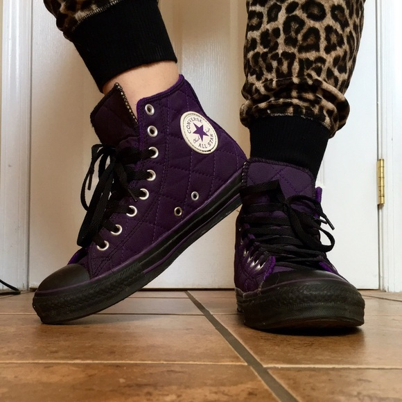 5ad1b65cec96 Converse Shoes - Converse Chuck Taylor All Star Quilted High Tops