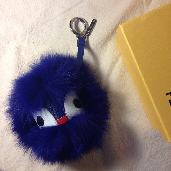 Blue monster bag charm c9e7dd1e55108