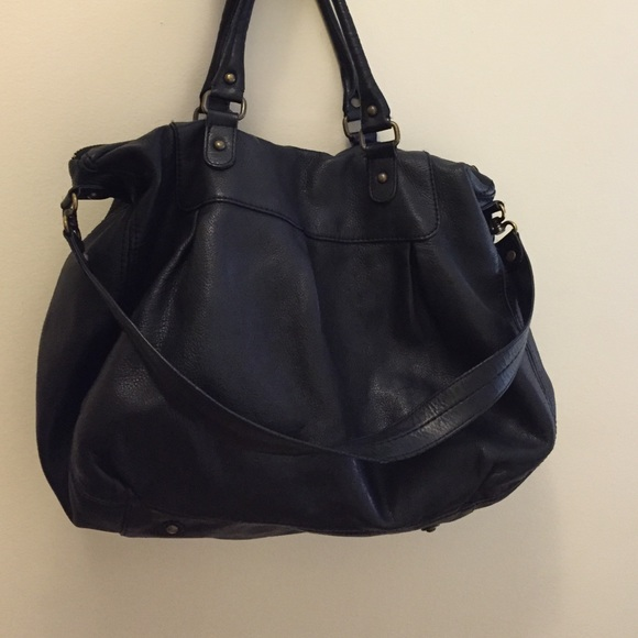 75% off GAP Handbags - Real leather satchel bag. from Albina's ...