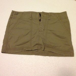 American Eagle Outfitters Dresses & Skirts - Khaki mini skirt