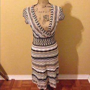 Multi Colored Shimmer Dress.