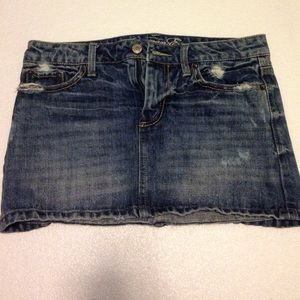 American Eagle Outfitters Dresses & Skirts - Denim mini skirt