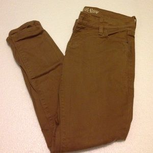 Old Navy Denim - Tan rockstar jeans