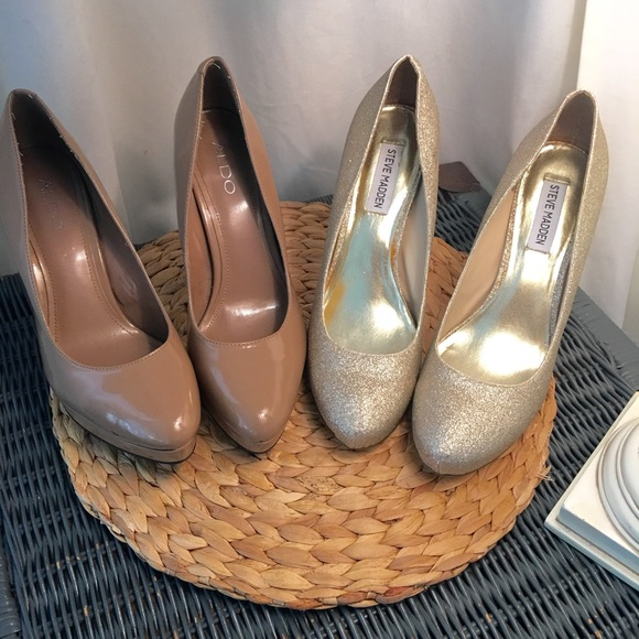 7e292d0ea66 Steve Madden Shoes - Shoe Bundle - Aldo   Steve Madden - Like New