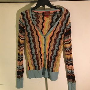 Missoni Sweaters - Missoni for Target Chevron Cardigan