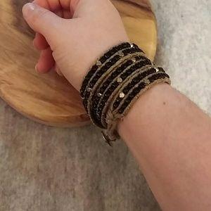 Wrap around boho bracelet