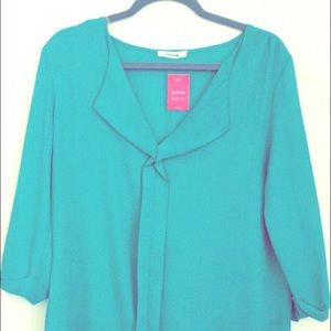 Tops - Light green color blouse