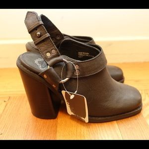 New Ecote Leather Ankle Boots