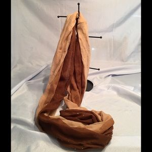 Dress Barn Accessories - Beige Ombré Eternity scarf
