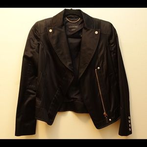 Christian Weber Black Satin Jacket