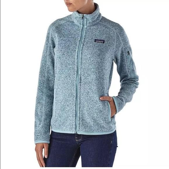 Sale Patagonia Womens Better Sweater Fleece Jacket Nwt