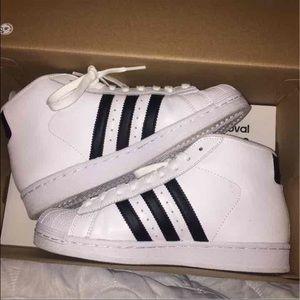 adidas shoes superstar high top