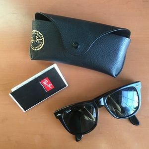 Ray-Ban Accessories - Authentic large wayfarers
