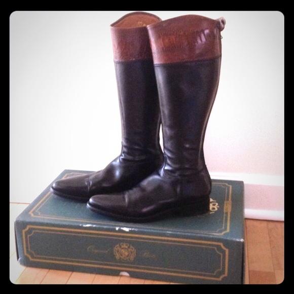 Alberto Fasciani Shoes Riding Boots Made In Italy Poshmark