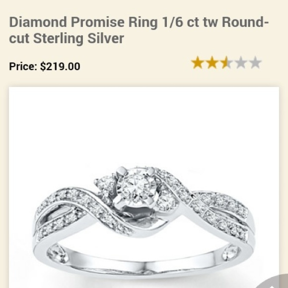 9% off Kay Jewelers Jewelry Kay Jewelers Diamond Promise Ring from Mincy& 3