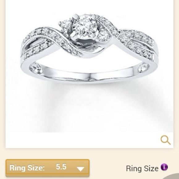 9 off kay jewelers jewelry kay jewelers diamond promise