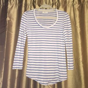 Madewell • Striped Texture Tee